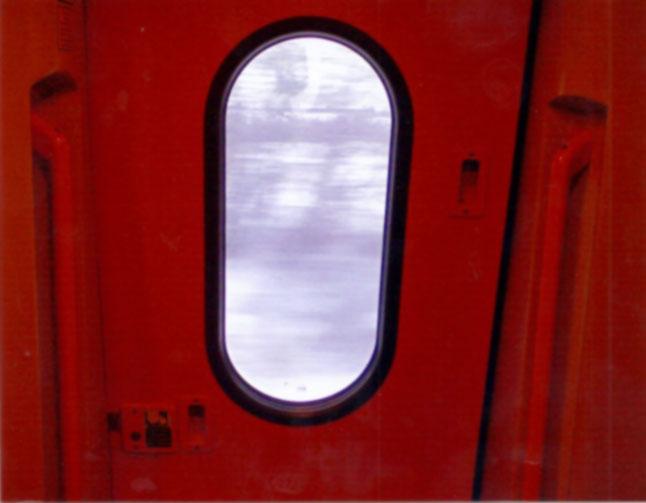 The train window, circa 2010